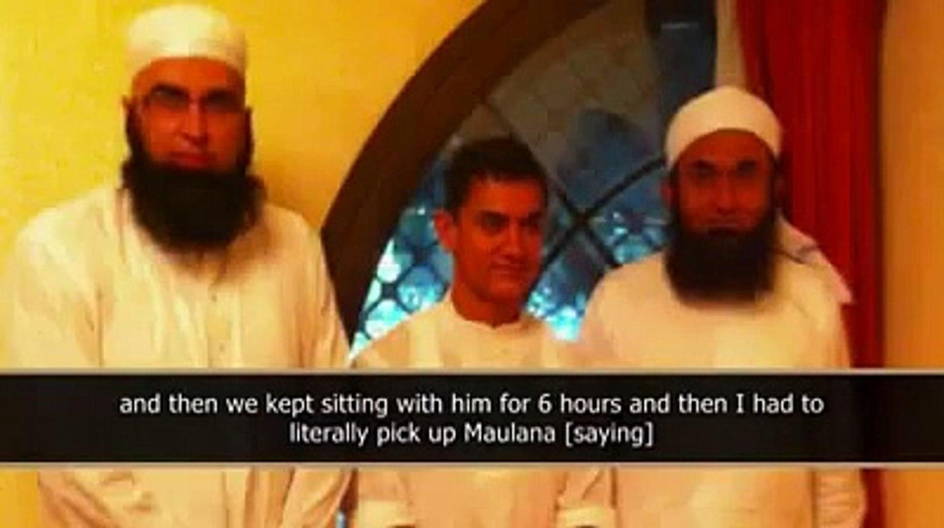 When Aamir Khan of Bollywood met Maulana Tariq Jameel 2012