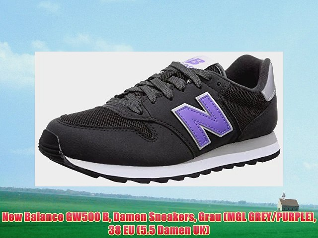 New Balance GW500 B Damen Sneakers Grau (MGL GREY/PURPLE) 38 ...