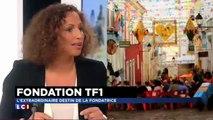La présidente de la Fondation TF1 en larmes sur le plateau de LCI