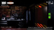 Five Nights At Freddys 3 - Night 1 Five Nights At Freddys Games (Fan Made)