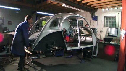 QW Custom - 2 CV Project: Assemblage Caisse / Chassis