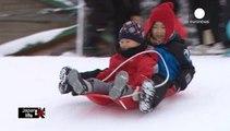 Attività invernali sulle Alpi giapponesi