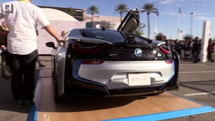 Up Close with the BMW i8 #CES2015 - GeekBeat Tips & Reviews