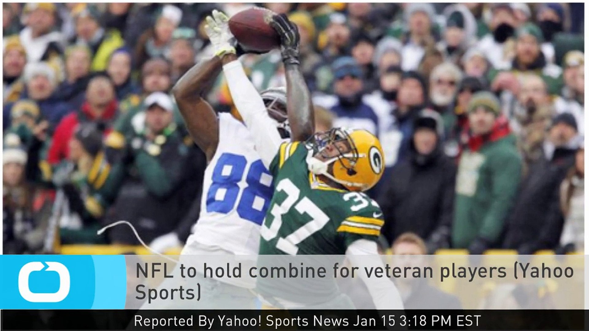 NFL to Hold Combine for Veteran Players (Yahoo Sports)