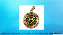 Bronze Egyptian Udjat Eye of Horus Ra Pendant - Egyptian Kemetic Jewelry Review