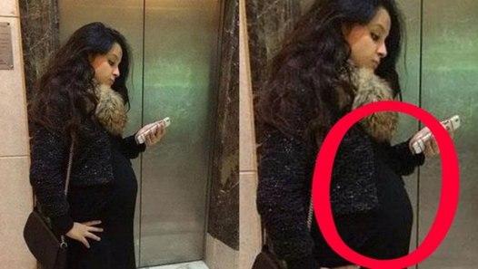 pics don't lie sakshi dhoni's baby bump confirms