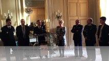 Cérémonie des voeux de Patrick Strzoda aux  forces de sécurité de Bretagne