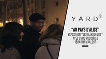 "Oxmo Puccino & Ibrahim Maalouf - Expo ""Au Pays D'Alice"" par Les Marqueurs"