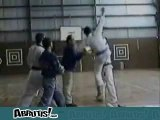 art Martial gag chute drole gamelles