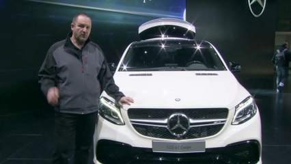 Detroit Motor Show 2015: Mercedes GLE Weltpremiere