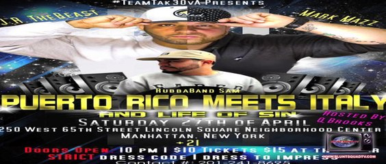Blunt Squad TV - Puerto Rico Meets Italy Team Tak3ova Showcase NYC Segment
