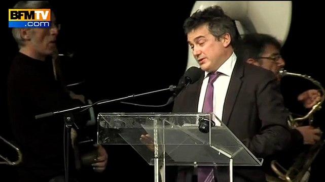 Pelloux craque à la cérémonie d'hommage à Charb