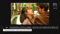 VIDÉO - Les films emblématiques de Marion Cotillard