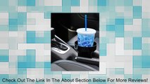 Cup Holder Expander Insert/ Cup Holder Extender Insert. Enlarge the size of your cup holder. Insert fits in most cup holders and improves their funtion by carrying large size drinks better. Catch basin holds spills and drips away from your drink. Review