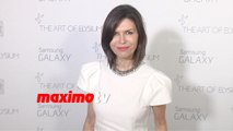 Finola Hughes | The Art of Elysium HEAVEN Gala 2015 | Red Carpet | MaximoTV Broll