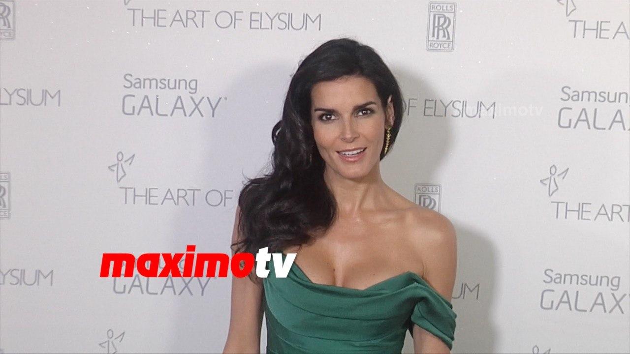 Angie Harmon Xnxx angie harmon   the art of elysium heaven gala 2015   red carpet   maximotv  broll