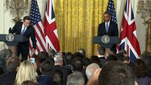 Cameron and Obama announce joint UK and US anti-terror push