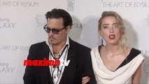 Johnny Depp & Amber Heard   2015 Art of Elysium HEAVEN Gala   Red Carpet Arrivals   MaximoTV Broll