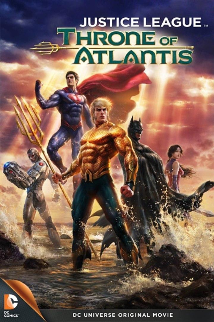 فيلم الاكشن والابطال الخارقين Justice League Throne of Atlantis 2015