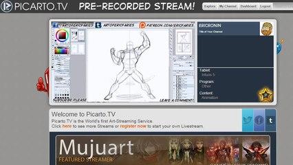 Picarto Livestream 1-11-2015
