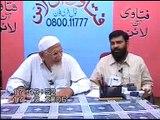 Wise Ulama aren't hasty to give Fatwa (negative) - molana ishaq