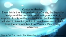 IceCarats Designer Jewelry Sterling Silver Genuine Onyx Pendant Enhancer 25.00X25.00 Mm Review