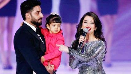 Aishwarya Rai Hands Over Baby Aaradhya's Responsibility To Abhishek