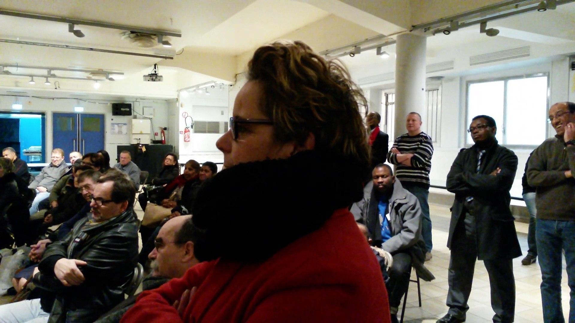 Intervention de Silvia Capanema, candidate de Saint-Denis Front de Gauche aux élections départementa