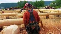 Les constructeurs de l'extreme le convoi de la peur_Maison en bois_Bar