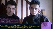 Télé interview - Raphaël Zacharie de IZARRA
