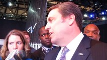 GM VP Mark Reuss on the BOLT and other new models REPORTER SCRUM --NewCarNews.TV Bob Giles