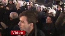 Emek Sineması Protestosunda Gerginlik