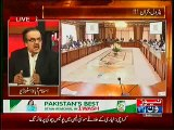 Dr. Shahid Masood Telling French Writer Story on the Situation of Our Nation