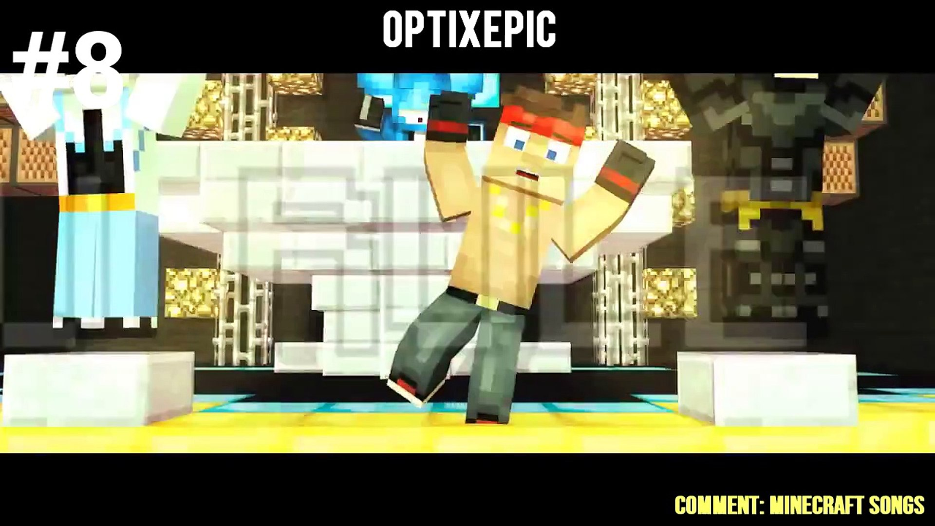 Top 10 Minecraft Song - January 2015 Best Minecraft Songs Animations Parody Parodies 2015