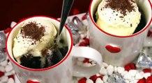 Chocolate MUG CAKE Recipe! Make 5 min Microwave Chocolate CUP Cake for TWO!