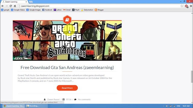 How to Download Games and softwares from my Website