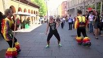 Limbo ples na ulici - skrivena kamera