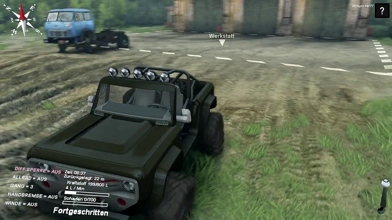 Spin Tires Ford Bronco Mod + Downloadlink