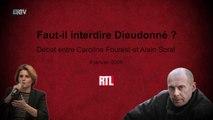 Faut-il interdire Dieudonné ? – Débat entre Alain Soral et Caroline Fourest – 8 janvier 2009