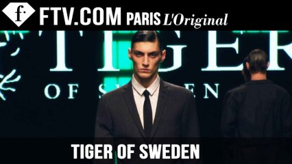 Tiger of Sweden Men Fall/Winter 2015 | London Collections: Men | FashionTV