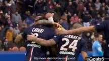 Edison Cavani Goal PSG 4 - 2 Evian TG Ligue 1 18-1-2015