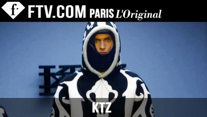 KTZ Men Fall/Winter 2015 | London Collections: Men | FashionTV