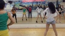 4minute-Whatcha Doin' Today dance tutorial MIRROR&SLOW by Jié(cours de kpop à Paris)