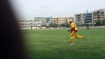 04 OF 13 A MISFIELD FOUR FOR YJ ELEVEN *** 24-07-2014 CRICKET COMMENTARY BY : PCB COACH PROF. NADEEM HAIDER BUKHARI  1st SEMI FINAL  VITAL FIVE CRICKET CLUB KARACHI vs YJ CRICKET CLUB KARACHI  *** 3rd VITAL 5 CLUB CRICKET RAMZAN CRICKET FESTIVAL 2014 (24)