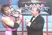 (1992.11.14b WWF) Shawn Michaels, Bret Hart Promo