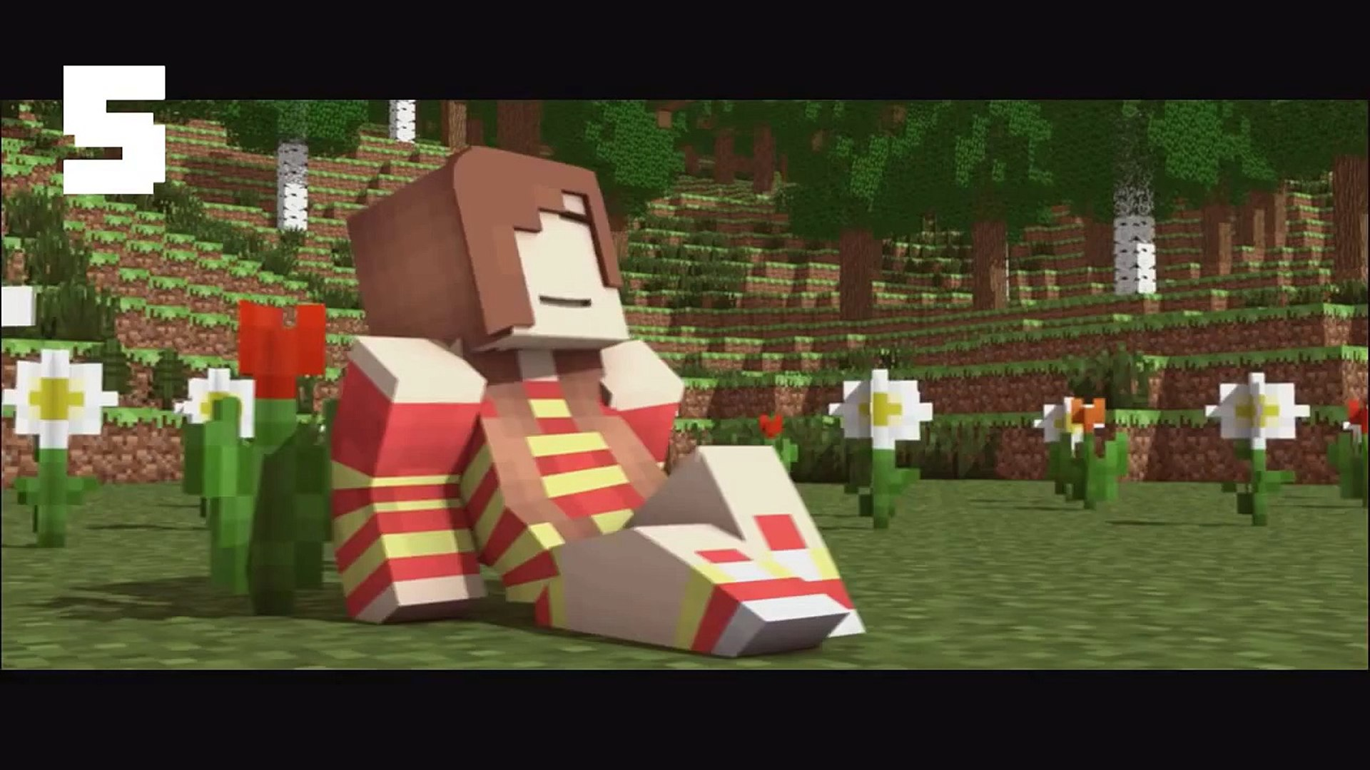 Top 5 Minecraft Songs Parodies Animations - Best Minecraft Song Animation Parody January 2015!