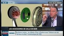 La chronique de Frédéric Simottel: Les accessoires pour une salle de bains high-tech - 19/01
