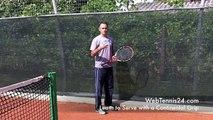 Tennis Serve Progression - the continental grip