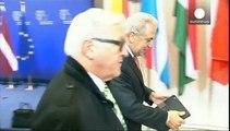 Bessere Zusammenarbeit im Kampf gegen Terrorismus: EU-Außenminister beraten in Brüssel