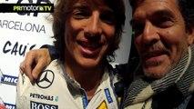 Entrevista a Roberto Merhi - Evento solidario 6to6 en Indoor Karting Barcelona by PRMotor TV (HD)